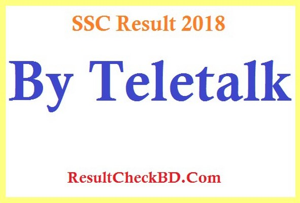 SSC Result 2018 by Teletalk