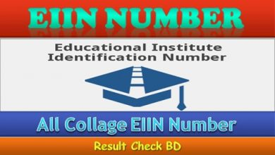 Collage EIIN Number